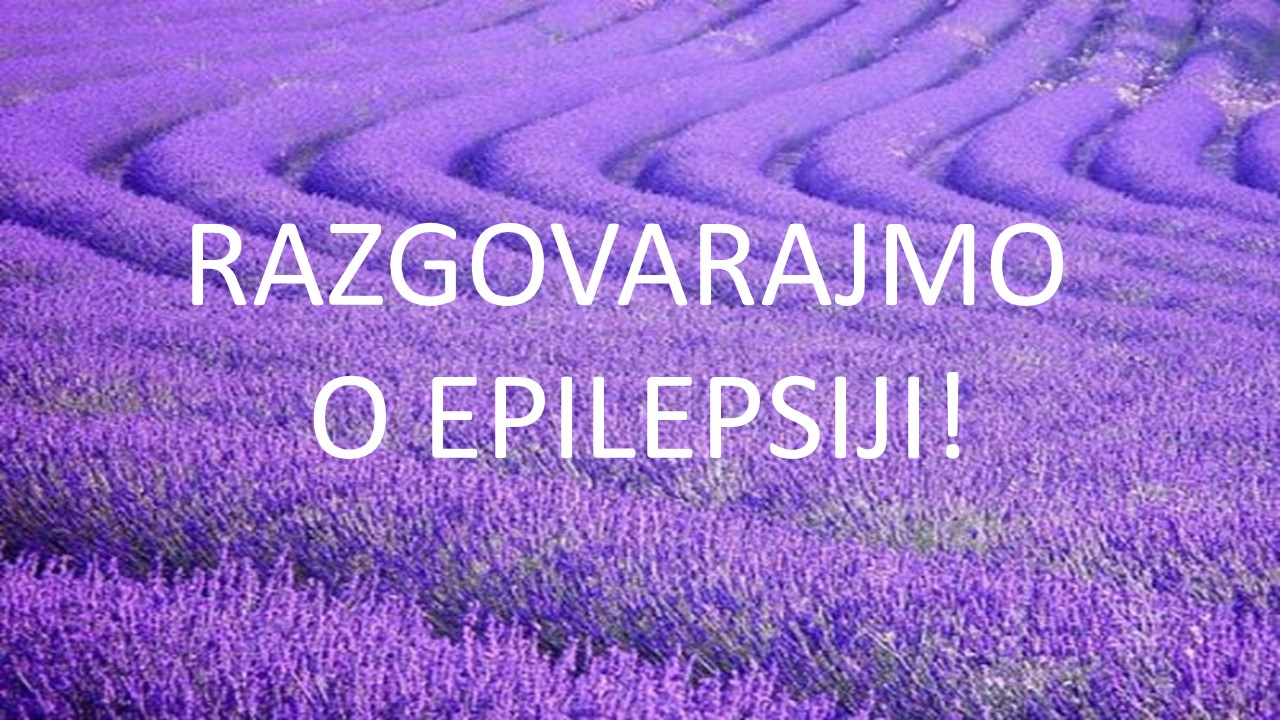 Razgovarajmo o epilepsiji